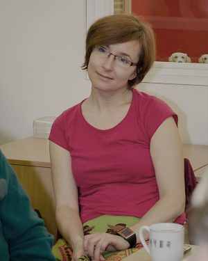 Portrét sociální pracovinice Mileny